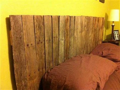 headboard made of pallets make your own headboard from pallets 99 pallets