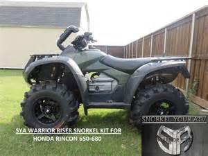 Honda Rincon 650 Honda Rancher And Honda Rincon And Honda Foreman Snorkel Kit