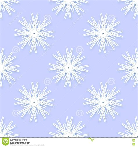 abstract snowflakes seamless pattern background royalty origami snowflakes seamless pattern on blue background