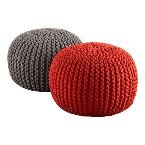 crochet ottoman pouf muntedkowhai crochet project