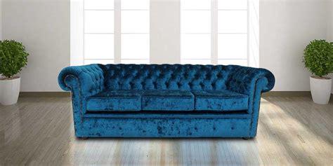 velvet chesterfield sofas uk buy blue velvet chesterfield sofa uk designersofas4u