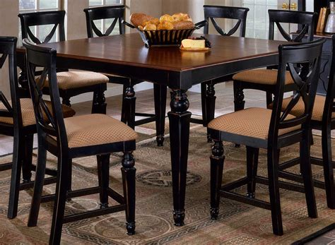 Counter Height Dining Room Tables Hillsdale Northern Heights Counter Height Dining Table 4439 835 Hillsdalefurnituremart