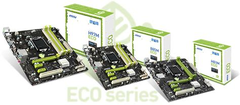 Motherboard Intel Msi H81m Eco msi eco motherboards revealed eco friendly gaming
