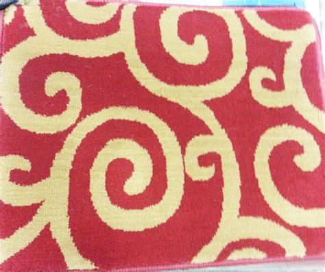 Karpet Meteran Tebal karpet venetia tebal bludru meteran karpet roll k