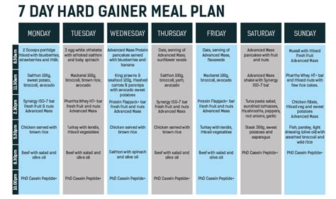 Diet Plan To Gain Muscle Promotiontodayu8 Over Blog Com Nutrition Plan Template
