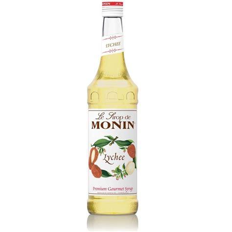 Monin Lychee Syrup 700ml monin trang 1