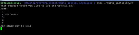 running text for motor using grovepi s together industries