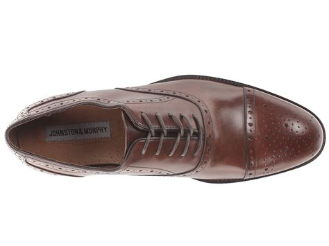 Johnston And Murphy E Gift Card - johnston murphy tyndall cap toe zappos com free shipping both ways