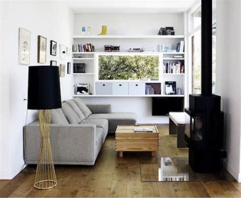 Arrange Living Room Furniture Open Floor Plan by Ideas Para Decorar Un Living Peque 241 O Casa Web