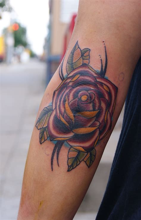 rose tattoo elbow tattoos designs ideas and meaning tattoos for you