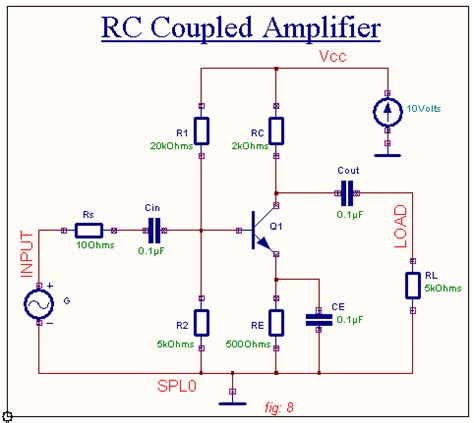 what is coupling capacitor in an lifier rc coupled lifier