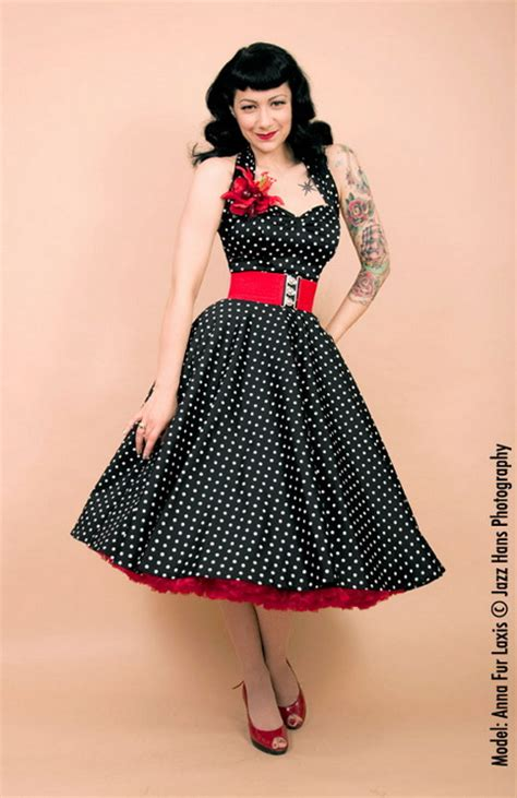 50s swing fashion rockabilly dresses
