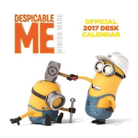 minion desk calendar 2017 despicable me desktop calendar 2017 for only 163 8 14 at