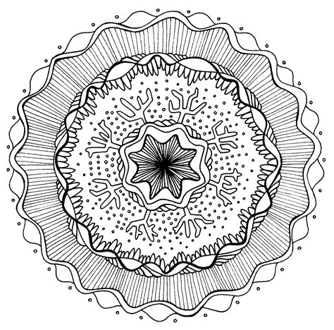 free coloring pages of art therapy mandalas