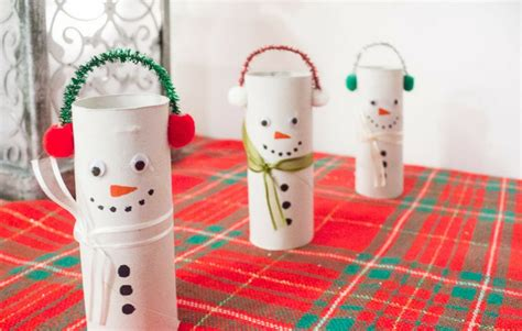 Basteln Mit Klopapierrollen Weihnachten by Basteln Mit Klorollen Zu Weihnachten 20 Tolle Recycling