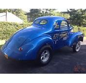 Car Tweet 1941 Willys Gasser Coupe Muscle Drag For Sale Current