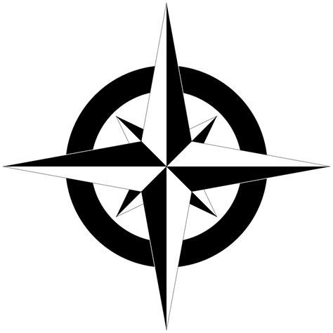 blank compass clipart best