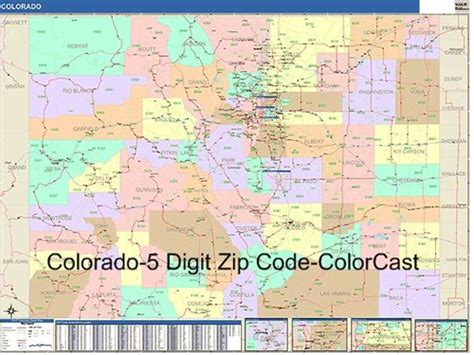 zip code map of colorado springs colorado map with zip codes my blog
