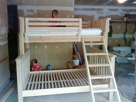bedroom  design  twin  queen bunk bed