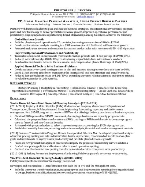 Hr Analyst Resume Sample by Chris Erickson Resume Fp Amp A