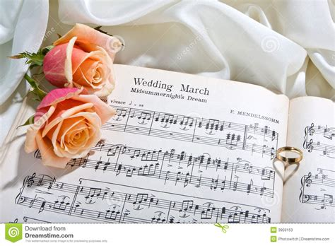 wedding song stock image image of musical rings