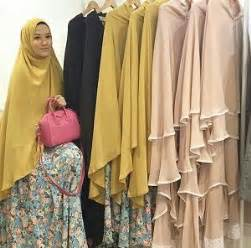 tutorial hijab syar i ala lyra virna 10 jilbab pesta syar i terbaru dan modern hijabyuk com