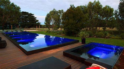 con piscine piscine a sfioro professione piscina
