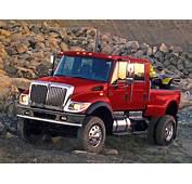 2005 International CXT 4x4 Offroad Truck Semi Tractor