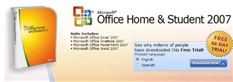 Microsoft Office Home And Student 2007 by Microsoft Office 2007 Home And Student Suite Free For 60