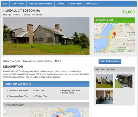 real estate plugins build a property listings website