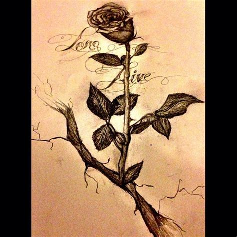 rose tattoo live finally finished it live the that grew from