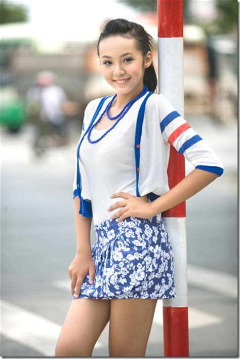 12 Yo Girl Model | 12 year old vietnamese girl model hoang bao tran le i am