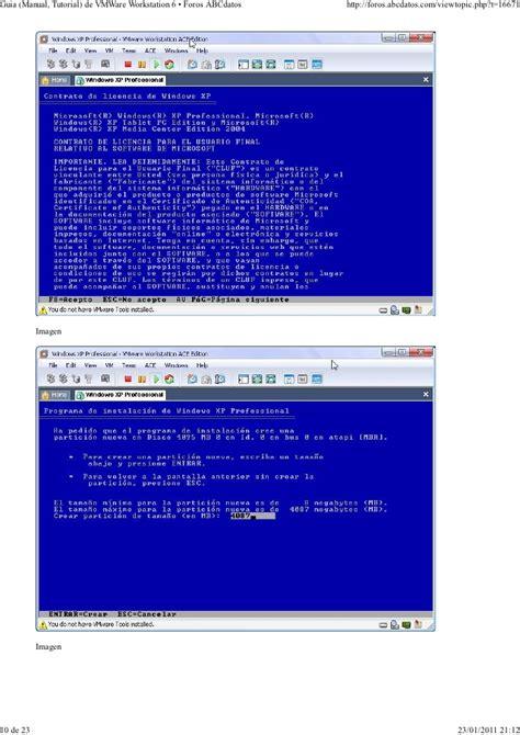 video tutorial vmware vmware tutorials 01 guia manual tutorial de vmware