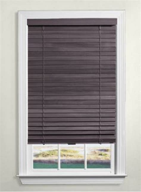 Cordless Wood Blinds Levolor Cordless Wood Blinds 2 Inch The Home Depot Canada