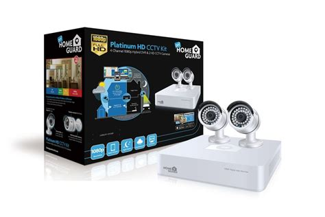 platinum security system 1080p 4 channel hybrid dvr