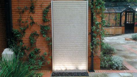 water wall features for the garden limestone water wall randle siddeley