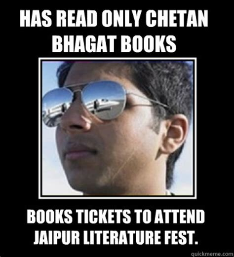 has read only chetan bhagat books books tickets to attend