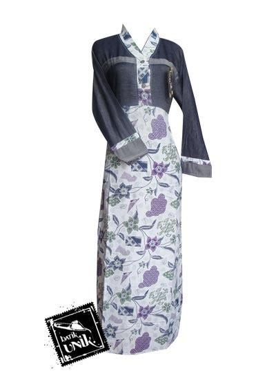 U082 Baju Atasan Batik Bunga 1 baju batik sarimbit motif bunga camanthel sarimbit gamis