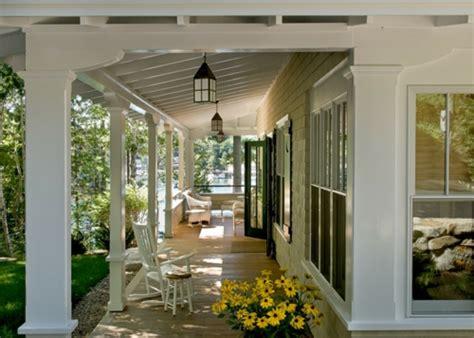 haus veranda interior design im landhausstil einrichten rustikales