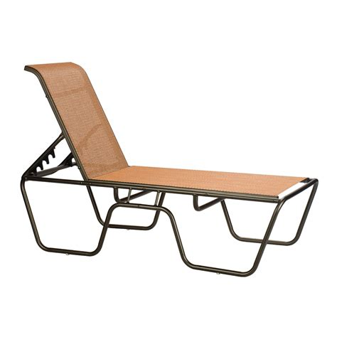 Backyard Creations Sling Chaise Lounge Sundance Outdoor High End Chaise Lounge High End Pool