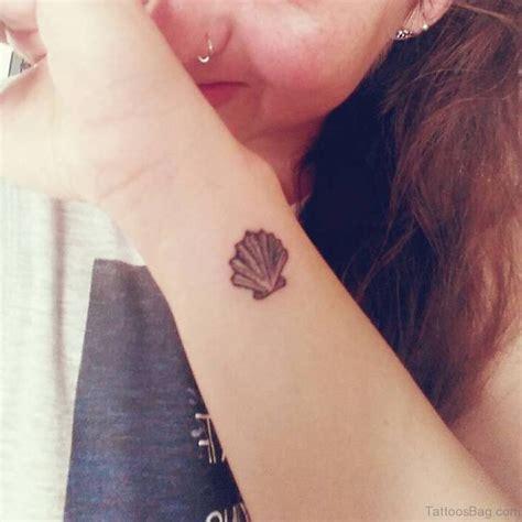 15 sea shell sweet wrist tattoos