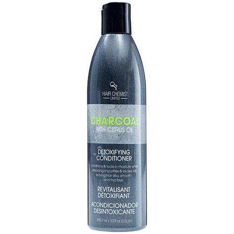 Hair Chemist Charcoal Detox Shoo Reviews by Hair Chemist Charcoal Detoxifying Conditioner With Citrus