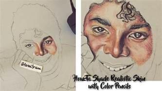 prismacolor skin tone colored pencils artorials tutorial w voiceover shading