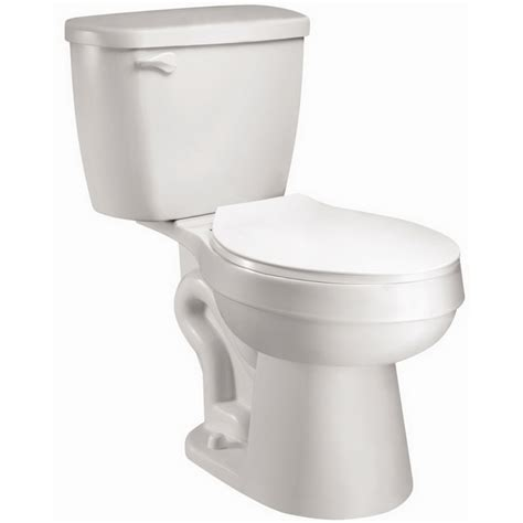 lowes bathroom commodes shop aquasource 1 28 gpf 4 85 lpf white watersense