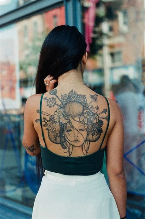 tattoo geisha back 128 best geisha tattoos