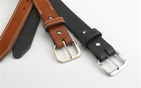 the gsi leather gun belt is durable and thick