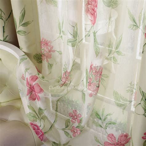 living room curtains in red with polyester loading zoom rose red floral print polyester bedroom or living room