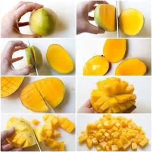 pratique comment couper une mangue facilement la vie
