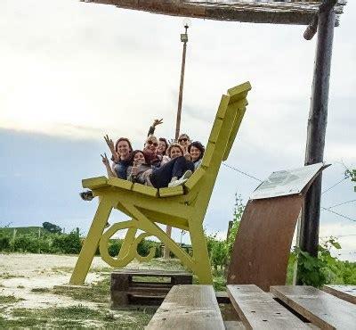 la panchina peppino di la panchina gigante di strevi in valle bagnario panchina