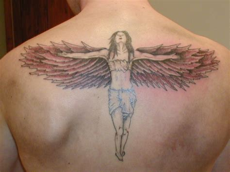 angel tattoo designs for men designs for ideas pictures